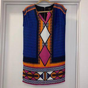 Laundry x Shelli Segal Navy/Black Print Dress - 2
